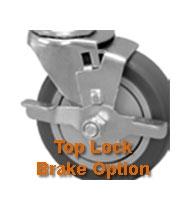 medium duty, industrial, pneumatic wheel brakes