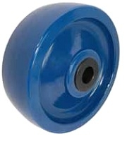 "solid polyurethane wheel 4x2 with precision ball bearing 1//2/"" ID ball bearing"